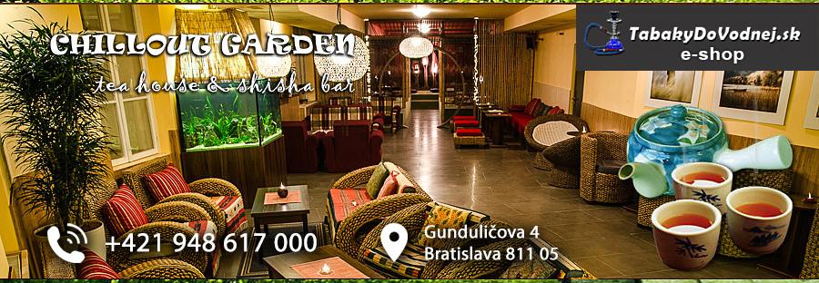 d2b81ff6965 Čajovňa Bratislava - Chillout Garden